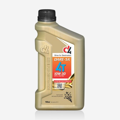 D4 1 Liter Dare 5x 10w30 Engine Oil