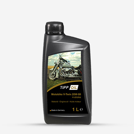 Tipp Oil Motobike Engine Oil  V-Twin 20W-50
