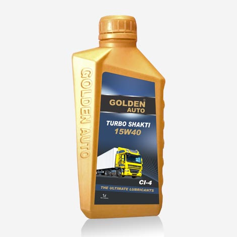 Golden Auto 15w40 CI4 Engine Oil