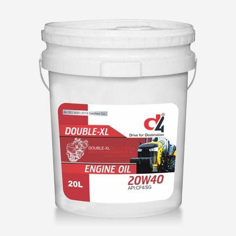 D4 Double XL Tractor oil
