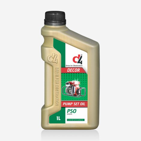 D4 DECOR 1 Liter Pump Set Engine oil