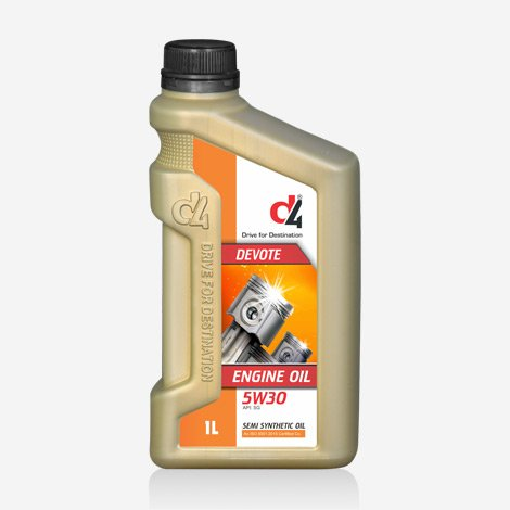 D4 DEVOTE 5W30 Semi Synthetic oil