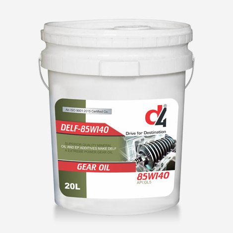 D4 GELF 85w140 Gear Oil