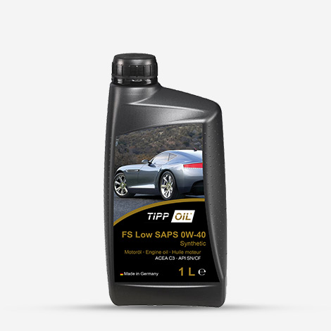 Car Engine Oil FS Low SAPS 0W-40 Tipp Oil