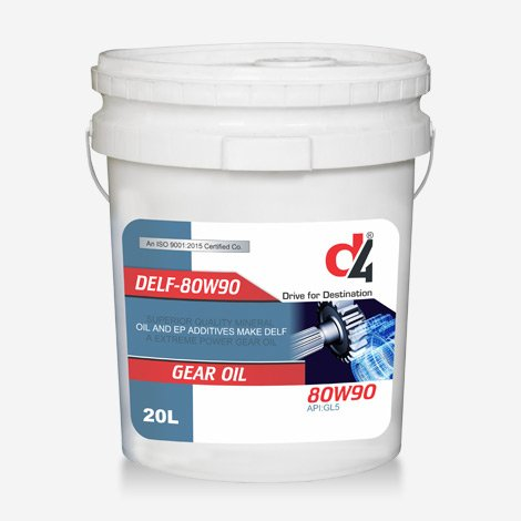 D4 GDELF 80W90 Gear Oil