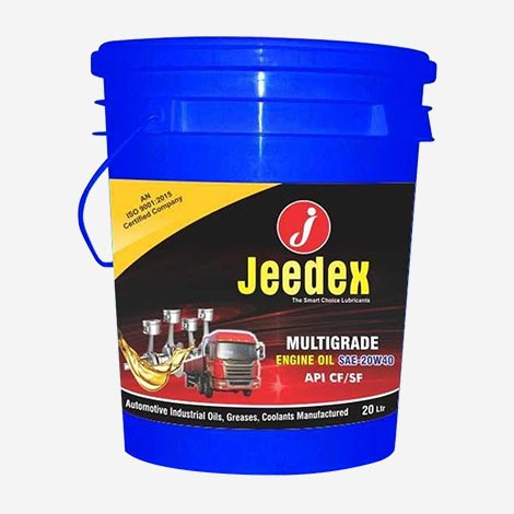 Jeedex Multigrade 20W40 Engine Oil