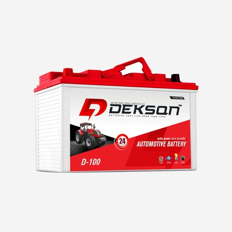 Dekson D-100 Automotive Battery