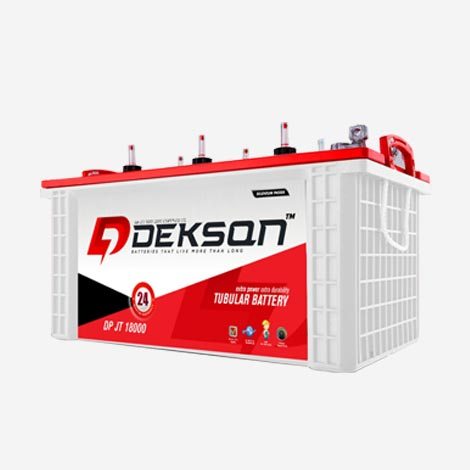 Dekson 150ah Jumbo Tubular Inverter Battery