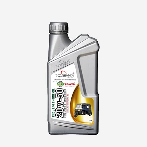 Vaiisan 20W50 CNG/LPG Engine Oil