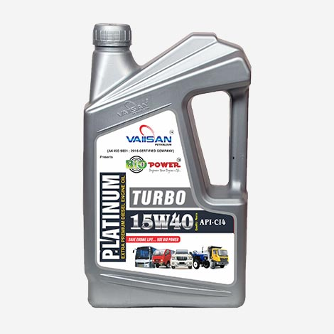 Vaiisan Platinum 15W40 Diesel Engine Oil