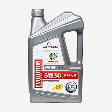 Vaiisan Evolution 5W30 Engine Oil