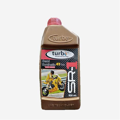 Turbo Semi Synthetic 10W30 Bike Engine Oil