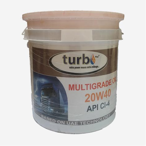 Turbo API CI-4 20W40 Engine Oil