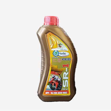 Turbo SR-1 Jaso 20W40 Engine Oil