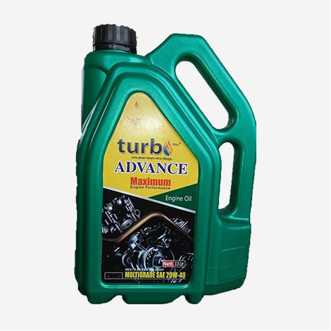 Turbo Advance 20W40 Engine Oil