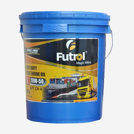 Futrol Heavy Duty Diesel Engine Oil
