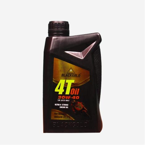 Blackgold Engine Oil Uitra 4-Stroke 20W-40
