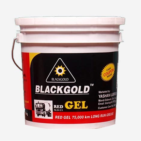 Blackgold Red Gel Grease