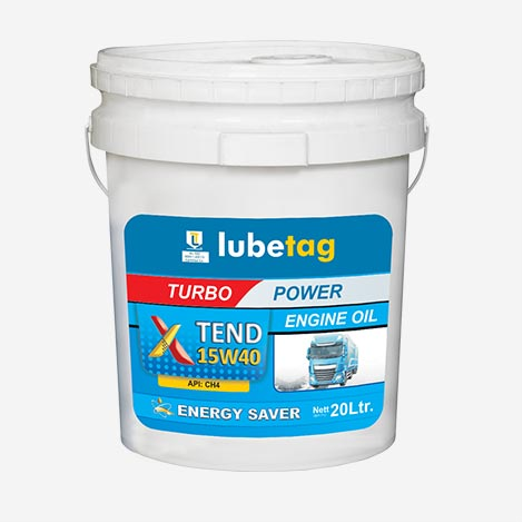 Xtend Lubetag 15W40 CH4 Engine Oil