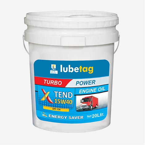 Lubetag Engine Oil CI4 15W40