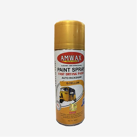 Amwax Paint Spray G-Yellow