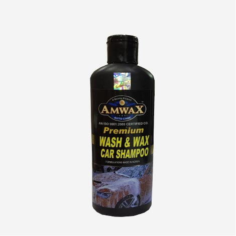 Amwax Premium Car Shampoo Wash & Wax