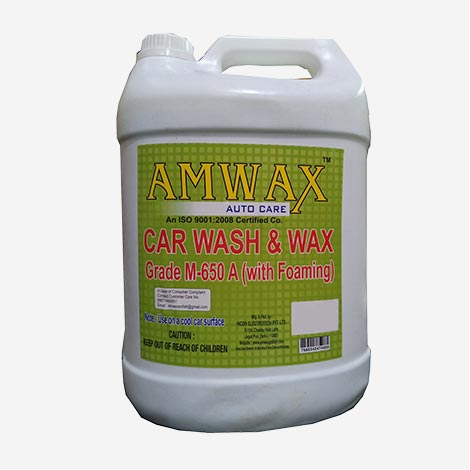 Amwax Car Wash & Wax Car Shampoo