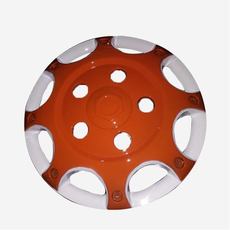 16 inch Orange Wheel Cover For Bolero