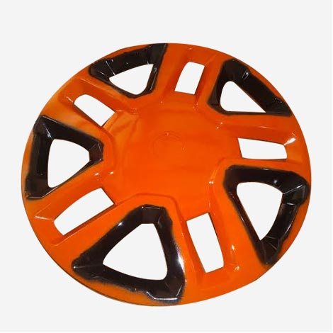 16 inch Orange  Wheel Cover For Breeza