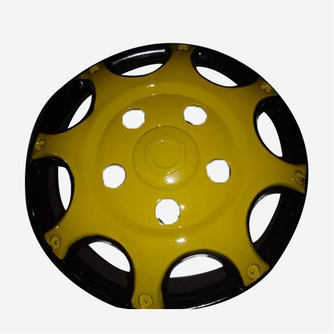 16 inch Yellow Wheel Cover For Bolero