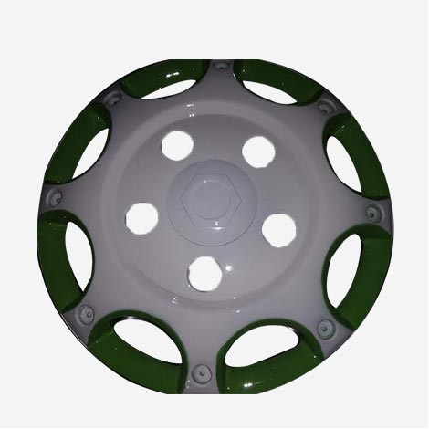 16 inch White Wheel Cover Bolero