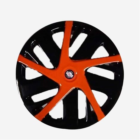 PG Auto Wheel Cover Red New Swift 14 inch