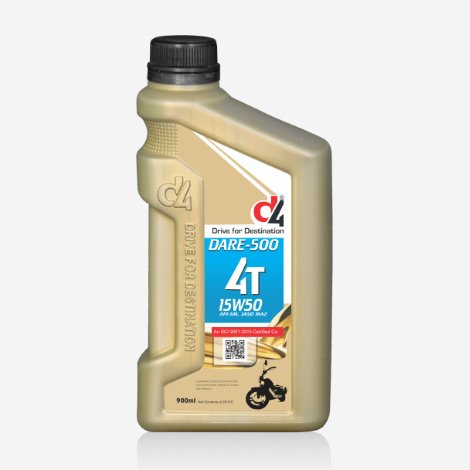 D4 Dare 500 Plus Engine Oil