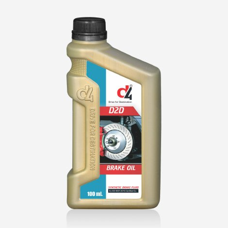 D4 D2D Heavy Duty Brake Oil