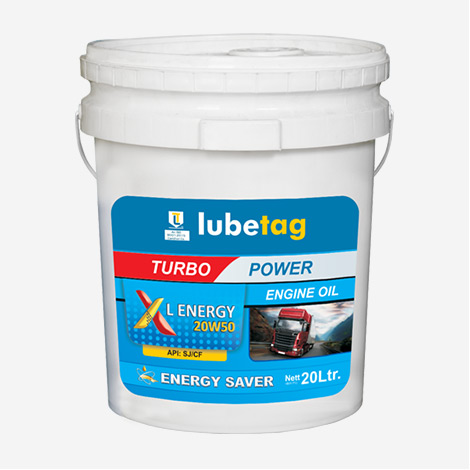 Lubetag Engine Oil XL-Energy 20W50 API SJ/CF