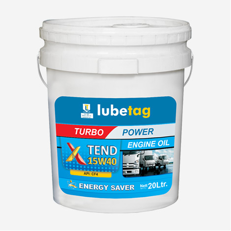 Lubetag Diesel Engine Oil 15W40 API CF-4