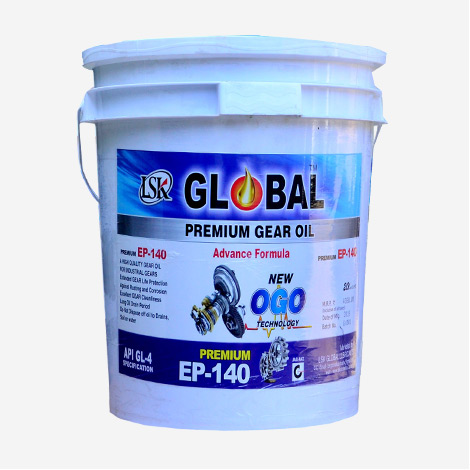 LSK Global Gear Oil EP-140 New OGO