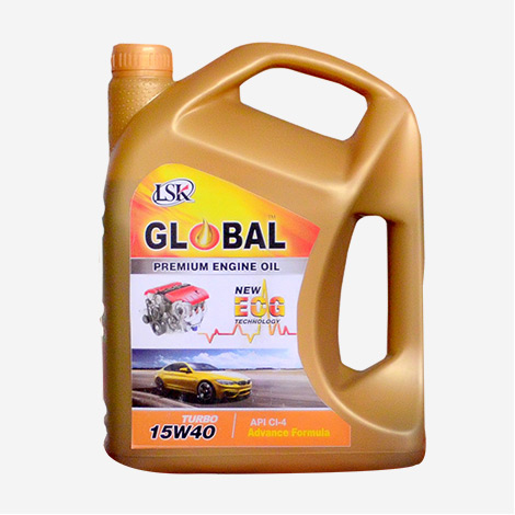 LSK  Global Premium Engine Oil 15W40 NEW ECG