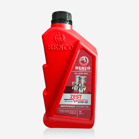 BENCO ZEST 20W40 Multi grade Engine oil