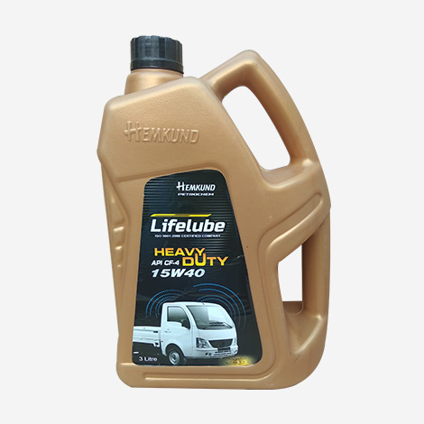 Lifelube Heavy Duty 15W40 API CF-4 Engine Oil