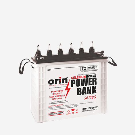 Orin OIP-2500TT Inverter Battery