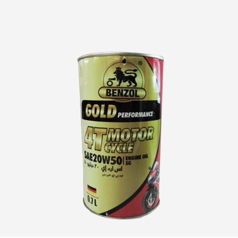 Benzol Gold 4T Motor Cycle Engine Oil