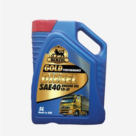 Benzol Diesel SAE 40 Engine Oil