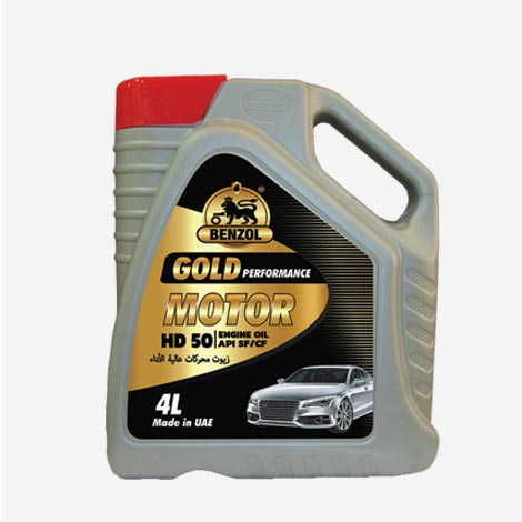 Benzol Motor HD 50 Engine Oil
