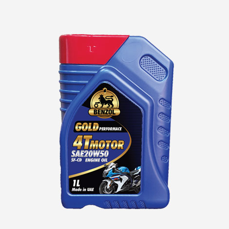 Benzol 4T Motor SAE 20W50 SF-CO Engine Oil