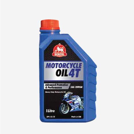 Benzol Motorcycle Oil 4T Bike Engine Oil