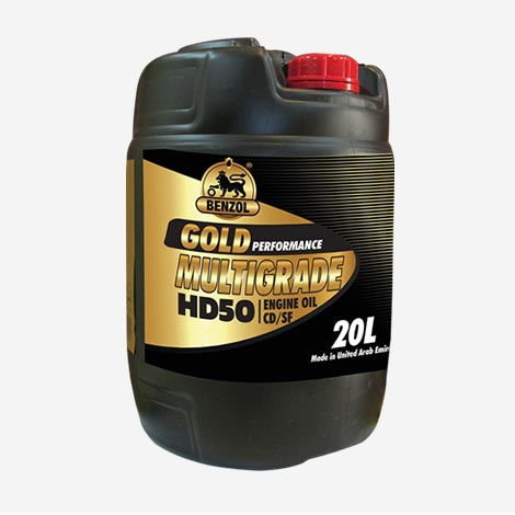 Benzol Gold Multigrade HD50 Engine Oil