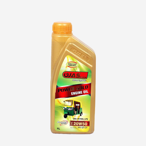 OJAS Power Gold CNG Engine Oil