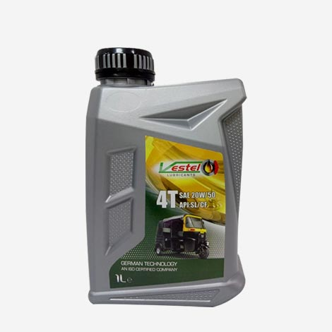 Vestel 4T SAE 20W50 CNG Engine Oil