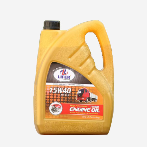Lifer 15W40 Turbo Engine Oil